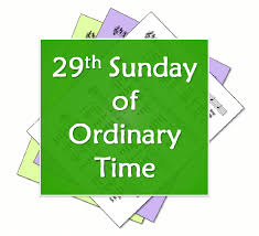 29th sunday