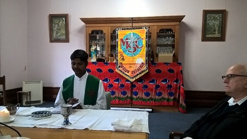 mission office meeting mass